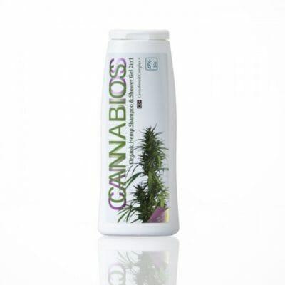 Cannabios organic hemp shampoo and shower gel