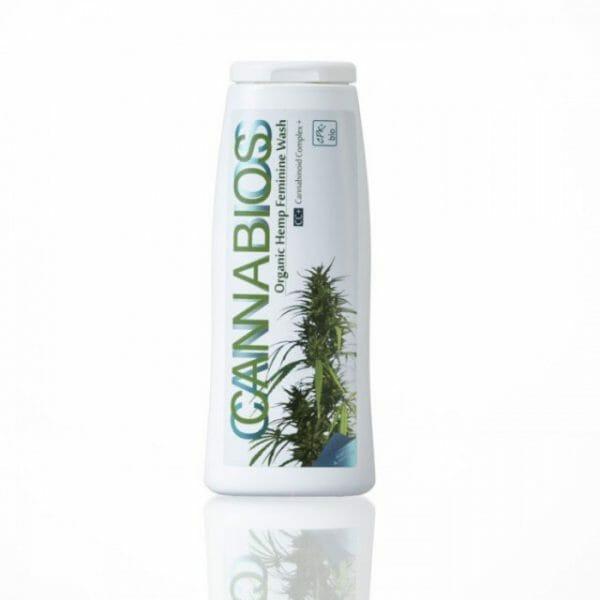 Cannabios organic hemp intimate wash gel
