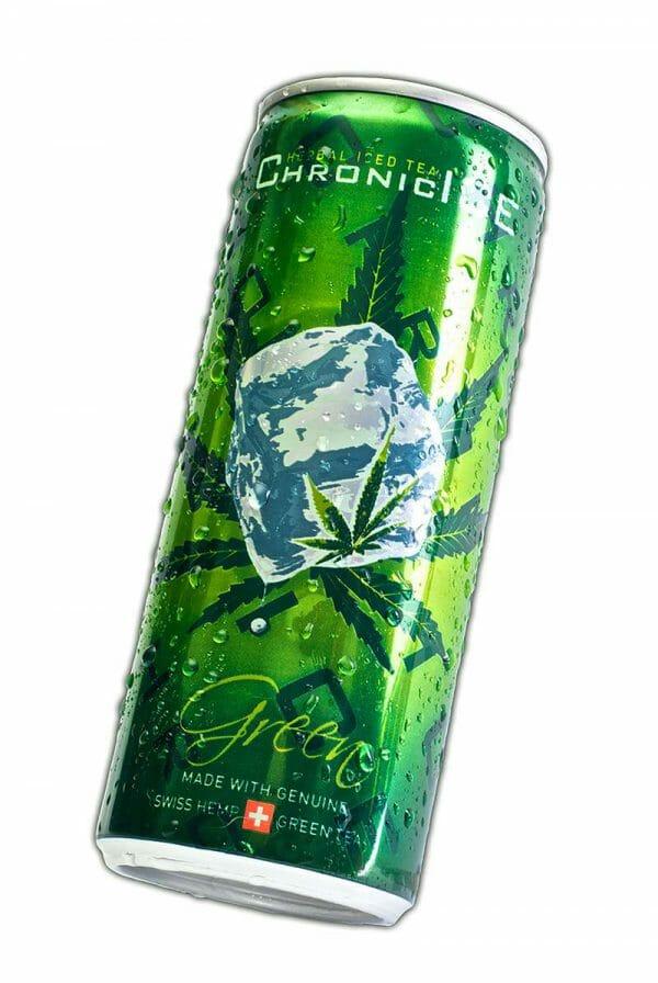 Chronic Ice herbal icetea green tea handblüten