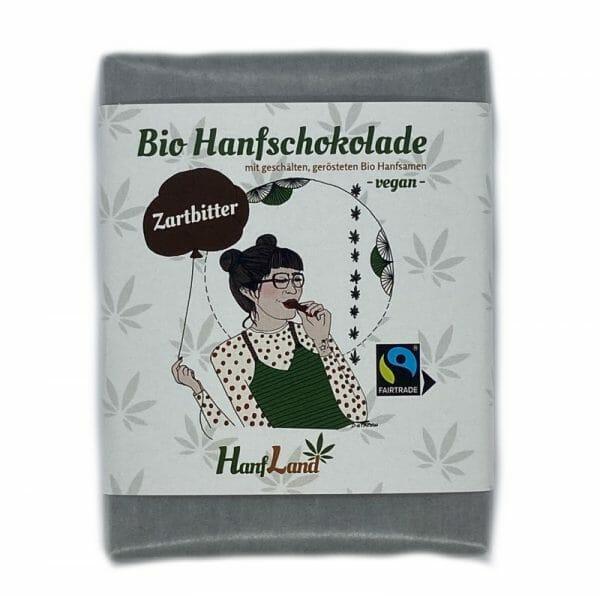bio hanfschokolade vegan zartbitter hanfland oesterreich