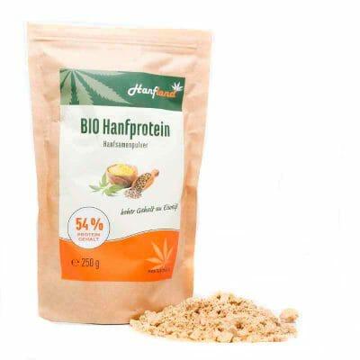 Bio hanfprotein54 hanfsamenpulver protein lose packung hanfland oesterreich 3